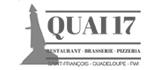 restaurant quai 17 saint francois guadeloupe