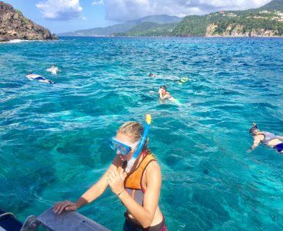 snorkeling reserve cousteau, randonnée palmée reserve cousteau, snorkeling guadeloupe