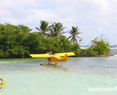 hydravion en guadeloupe, tour en avion en guadeloupe